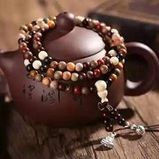 工藝多寶珠男女手鏈0.6毛衣鏈金絲楠黑檀血龍木十幾種木種手串車飾品佛珠