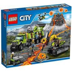 乐高城市系列60124火山探险基地lego city积木玩具图片