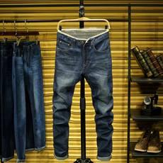 2018秋季新款暢銷款式男裝牛仔褲商務男士長褲直筒褲