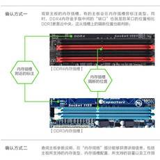 金士顿(Kingston)DDR4 2400 8GB 台式机内存