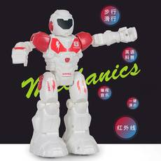 儿童电动模型玩具智能遥控机器人机械充电编程儿童益智玩具sy