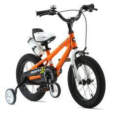 优贝Royalbaby 儿童自行车 12寸男女童车 2-4岁小孩单车脚踏车钢架炫彩表演车 多色可选