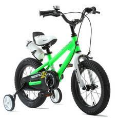 优贝Royalbaby 儿童自行车 16寸男女童车 4-7岁小孩单车脚踏车钢架炫彩表演车 多色可选