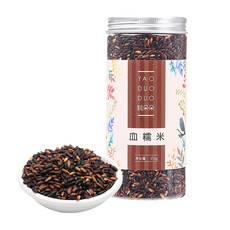姚朵朵 血糯米 黑糯米五谷杂粮米 粽子米粥料伴侣350g*4份